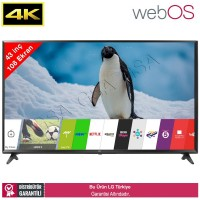 LG 43UJ630V 108 Ekran webOS 3.5 Dahili Uydu Smart LED TV