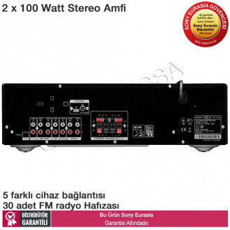 Sony STR-DH130 2x100W FM Radyolu Stereo Amfi