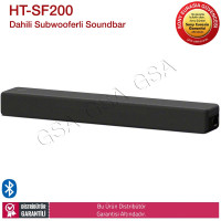 Sony HT-SF200 Bluetoothlu 2.1 kanal Dahili Subwooferli Sound bar