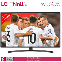 LG 43UK6470 108 Ekran UHD 4K WebOS Yapay Zeka Smart TV