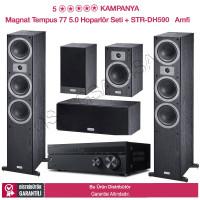 Magnat Tempus 77 Set + Sony STR-DH590 5 + 0 Ev Sinema Sistemi