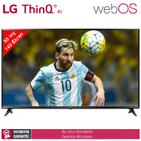LG 55UK6100 140 Ekran UHD 4K HDR WebOS Yapay Zeka Smart TV