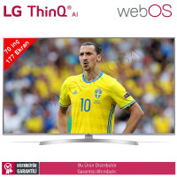 LG 70UK6950 177 Ekran UHD 4K HDR WebOS Yapay Zeka Smart TV