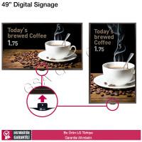 LG 49SE3D 49 inç Full HD Digital Signage