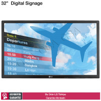 LG 32SL5B 32 inç 450 nits Full HD Digital Signage
