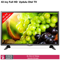 LG 43LV340C Full HD Dahili Uydu Alıcılı Otel TV