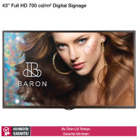 LG 43SH7DD Full HD 700nits Digital Signage Monitörü