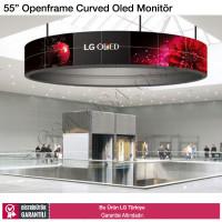 """LG 55EF5C 55"""" Openframe Bükülebilir Curved Oled Monitör"""