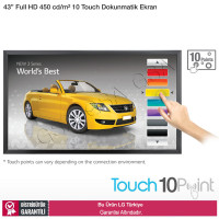 LG 43TA3E 450 nits Full HD 10 Touch Dokunmatik Monitör