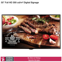 LG 55SE3DD Full HD 300nits Digital Signage Monitörü