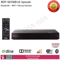 Sony BDP-S6700B 4K Upscale Bluetooth Wifi Bluray Oynatıcı