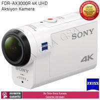 Sony FDR-X3000 Wi-Fi® ve GPS Özellikli 4K Action Cam