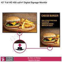 LG 43SM5D Full HD Smart Digital Signage Monitör