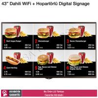 LG 43SM5KE 43 inç Dahili Wifi + Hoparlörlü Digital Signage