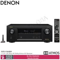 Denon AVR-X3400H 7,2 Kanal Dolby Atmos Bluetoothlu AV Receiver