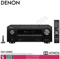 Denon AVR-X3500H 7,2 Kanal Dolby Atmos DTS-X Bluetoothlu AV Receiver