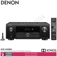 Denon AVR-X4500H 9,2 Kanal Dolby Atmos DTSX Bluetooth AV Receiver