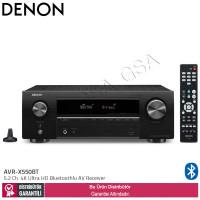 Denon AVR-X550BT 5.2 Kanal 4K Bluetoothlu AV Receiver