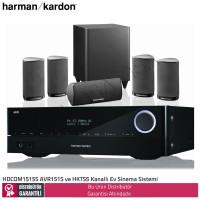 Harman Kardon HDCOM1515S AVR151S ve HKTS5 Ev Sinema Sistemi