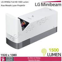 LG HF85JS Full HD 1500 Lumen Ultra Kısa Mesafe Lazer Projektör