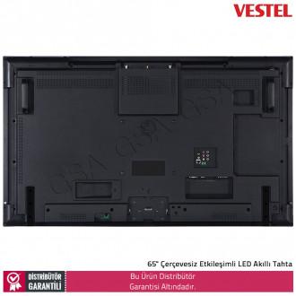 """VESTEL IF65UG602 65"""" Çerçevesiz Etkileşimli LED Akıllı Tahta"""