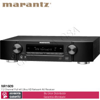 Marantz NR1609 7.2 Channel Full 4K Ultra HD Network AV Receiver