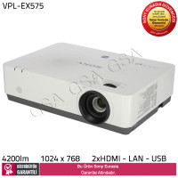 Sony VPL-EX575 4.200 lümen XGA Kompakt Projektör