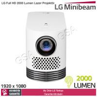LG HF80JS Full HD 2000 Lumen Lazer Projektör