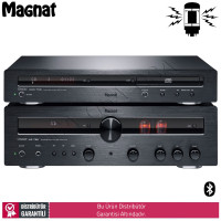 Magnat MR 780 High-end lambalı receiver + MCD 750 CD Müzik Sistem
