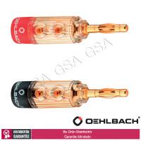 Oehlbach 3030 XXL Fusion Banana Konnektör 4lü
