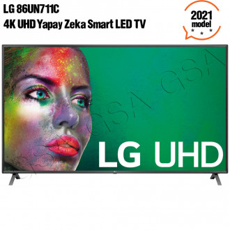 "LG 86UN711 C0ZB 86"" 4K UHD Yapay Zeka Smart LED TV"