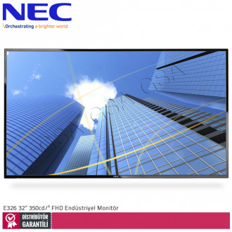 Nec Multisync E326 32 inc 350 cd/² Full HD Endüstriyel Monitör
