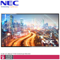 Nec Multisync E436 43 inc 350 cd/² Full HD Endüstriyel Monitör