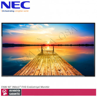 Nec Multisync E506 50 inc 350 cd/² Full HD Endüstriyel Monitör