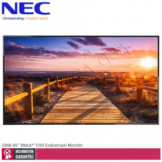 Nec Multisync E656 65 inc 350 cd/² Full HD Endüstriyel Monitör