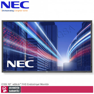 Nec Multisync E705 70 inc 400 cd/² Full HD Endüstriyel Monitör