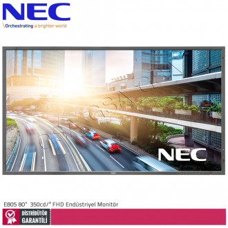 Nec Multisync E805 80 inc 350 cd/² Full HD Endüstriyel Monitör