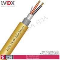 IVOX Pro Gold PRG2215SPC Profesyonel Hifi Bakır Hoparlör Kablosu