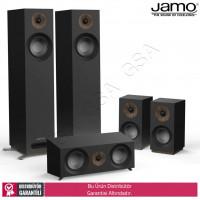 Jamo S-805 HCS 5.0 Ev Sinema Sistemi Hoparlör Seti - Siyah