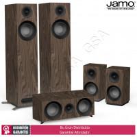 Jamo S-805 HCS 5.0 Ev Sinema Sistemi Hoparlör Seti - Walnut