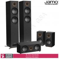 Jamo S-807 HCS 5.0 Ev Sinema Sistemi Hoparlör Seti - Siyah