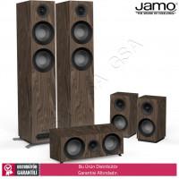 Jamo S-807 HCS 5.0 Ev Sinema Sistemi Hoparlör Seti-Walnut